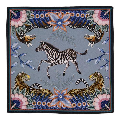 Ardmore Bush Bandits Napkin-Zebra Stone