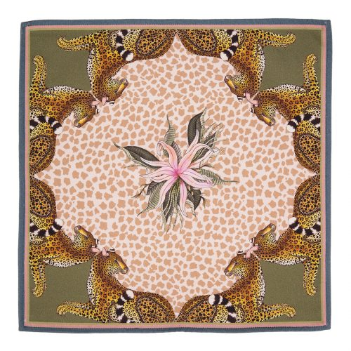 Ardmore Leopard Lilly Napkin