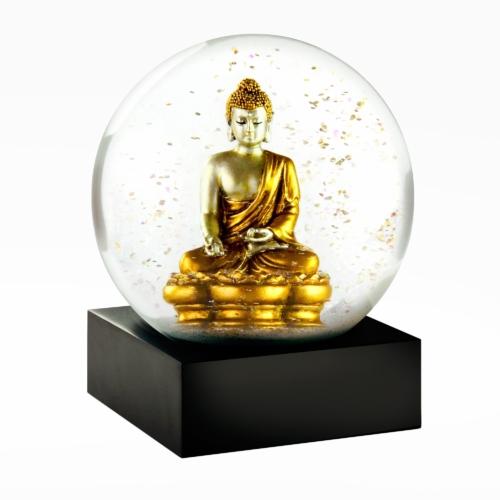 Snow Globes-Gold Buddha