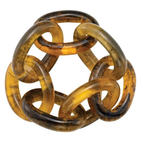 Bodrum Napkin Chain Link Tortoise