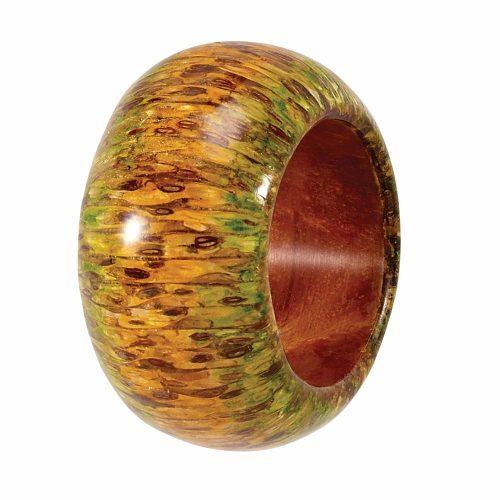 Bodrum Napkin Ring Glossy Twig