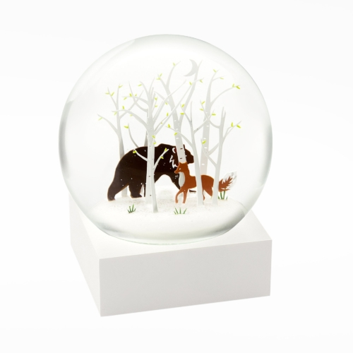 Snow Globes-Fox and Bear