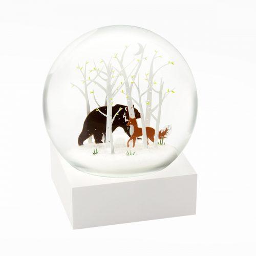 Snow Globes-Fox and Bear