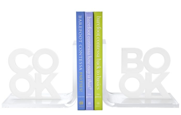 Tara Wilson Cook Book Bookends