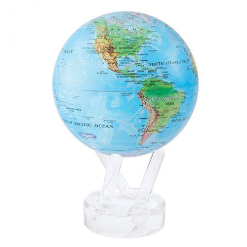 "RELIEF MAP BLUE MOVA GLOBE 8.5"""