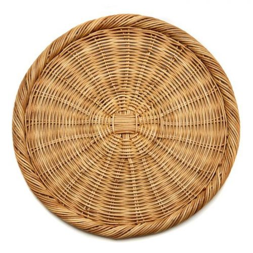 Deborah Rhodes Placemats WEEKENDER WICKER CHARGER Round Natural