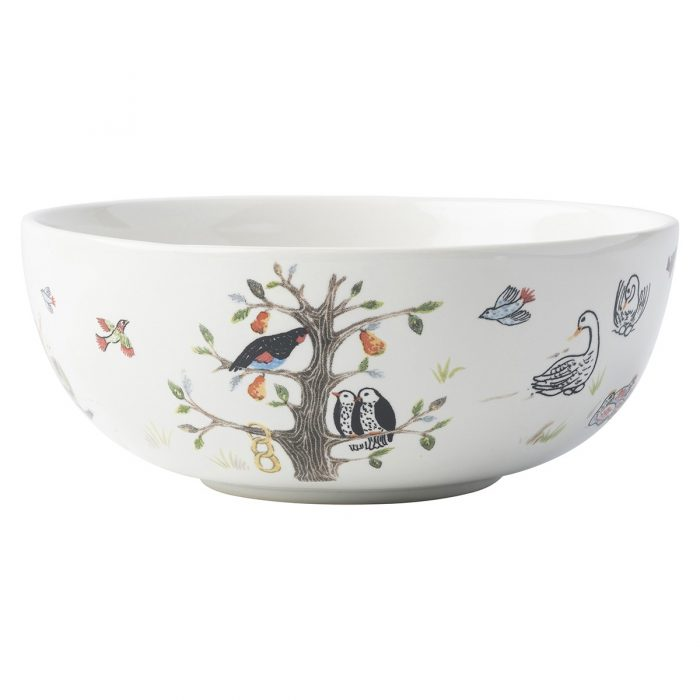 Juliska Twelve Days of Christmas Cereal/Ice Cream Bowl