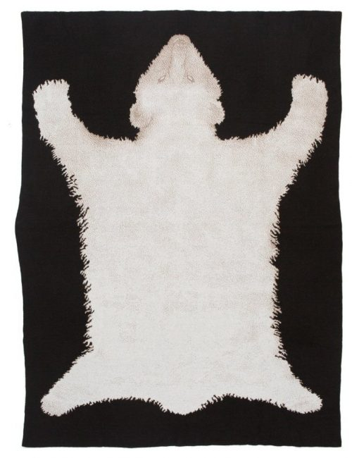 Saved NY-POLAR BEAR RUG-Cashmere Throw