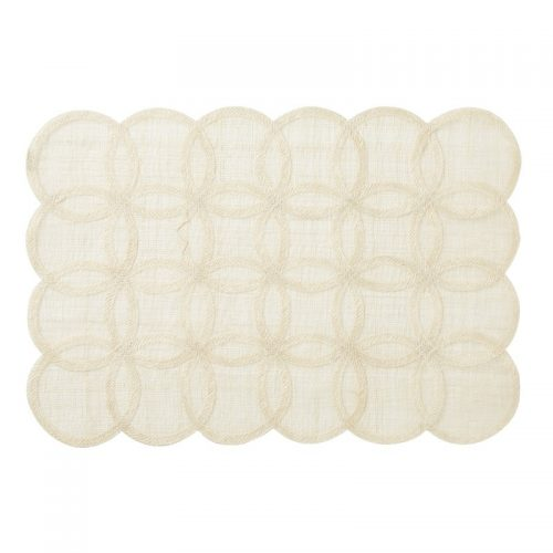 Juliska Rings Rectangular Natural Placemat