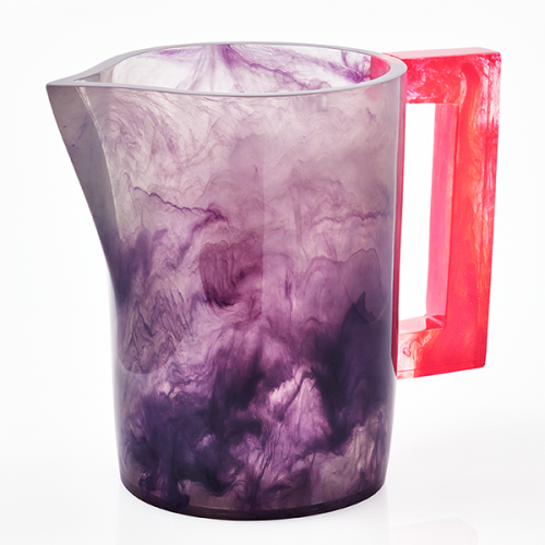 Lily Juliet Pitcher Violet With Red Handle