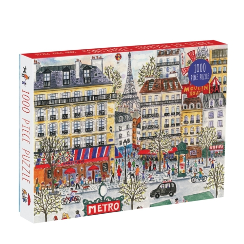Galison Puzzle-Michael Storrings Paris 1000 Piece