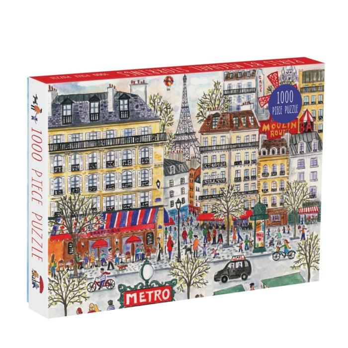 Galison Puzzle-Michael Storrings Paris 1000 Piece