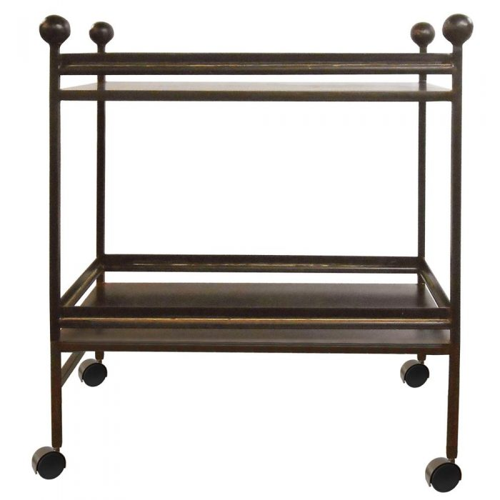 JAN BARBOGLIO LINEA BAR CART