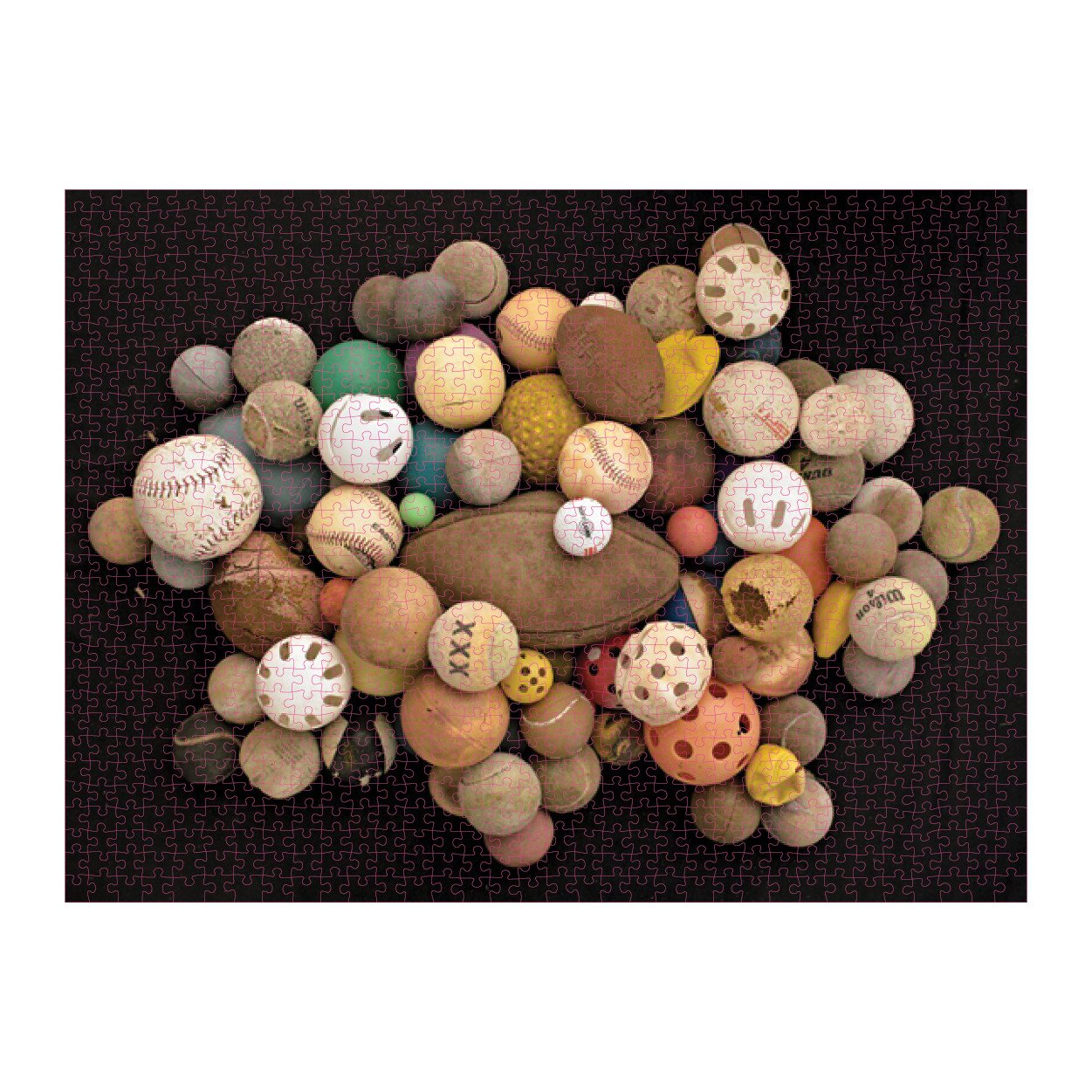 Galison Puzzle-Found in Nature: Beached Balls 1000 Piece