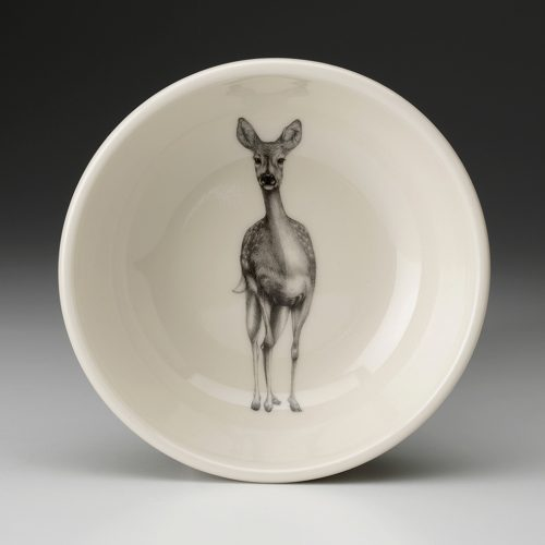 Laura Zindel Cereal Bowl: Fallow Doe