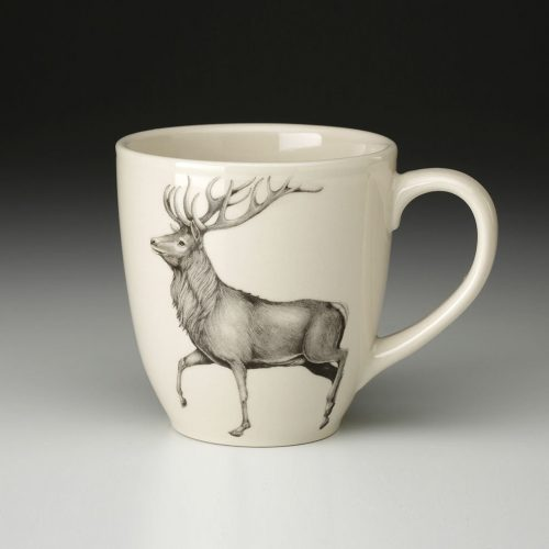 Laura Zindel Mug: Red Buck
