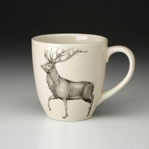 Laura Zindel Mug: Red Buck
