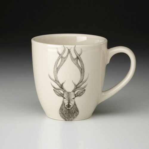 Laura Zindel Mug: Red Stag