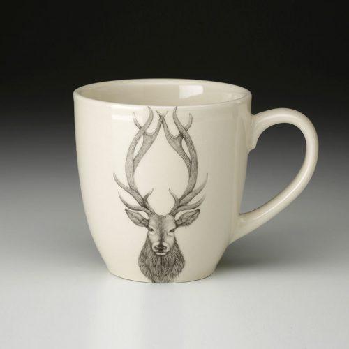 Laura Zindel Mug: Red Stag