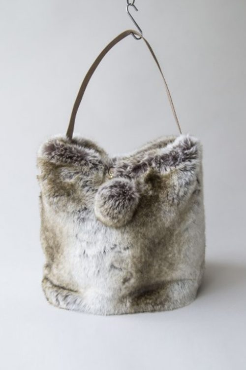 Evelyne Prelonge Faux Fur Bag - Manaco