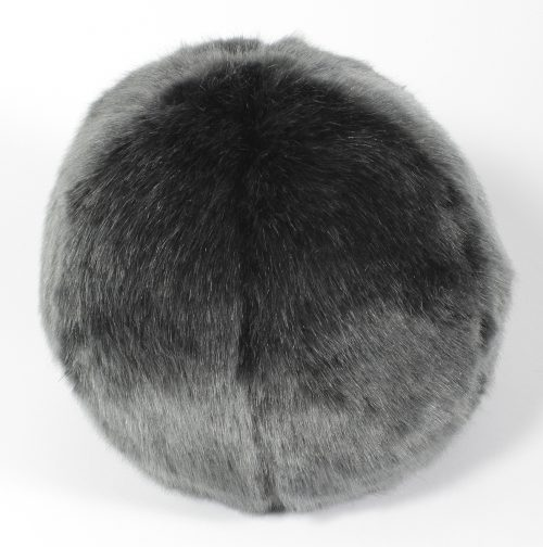 "Evelyne Prelonge Faux Fur Snowball 10"" - Anthracite"