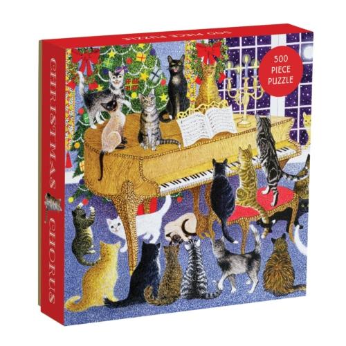 Galison Puzzle-Christmas Chorus 500 Piece