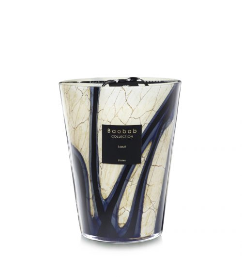 Baobab Candle Collection-RACINE - LAZULI - 9.4″