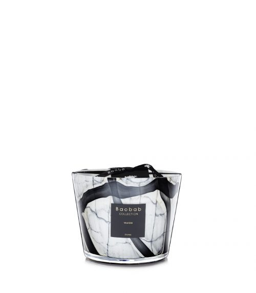 Baobab Candle Collection-RACINE - MARBLE - 3.9″
