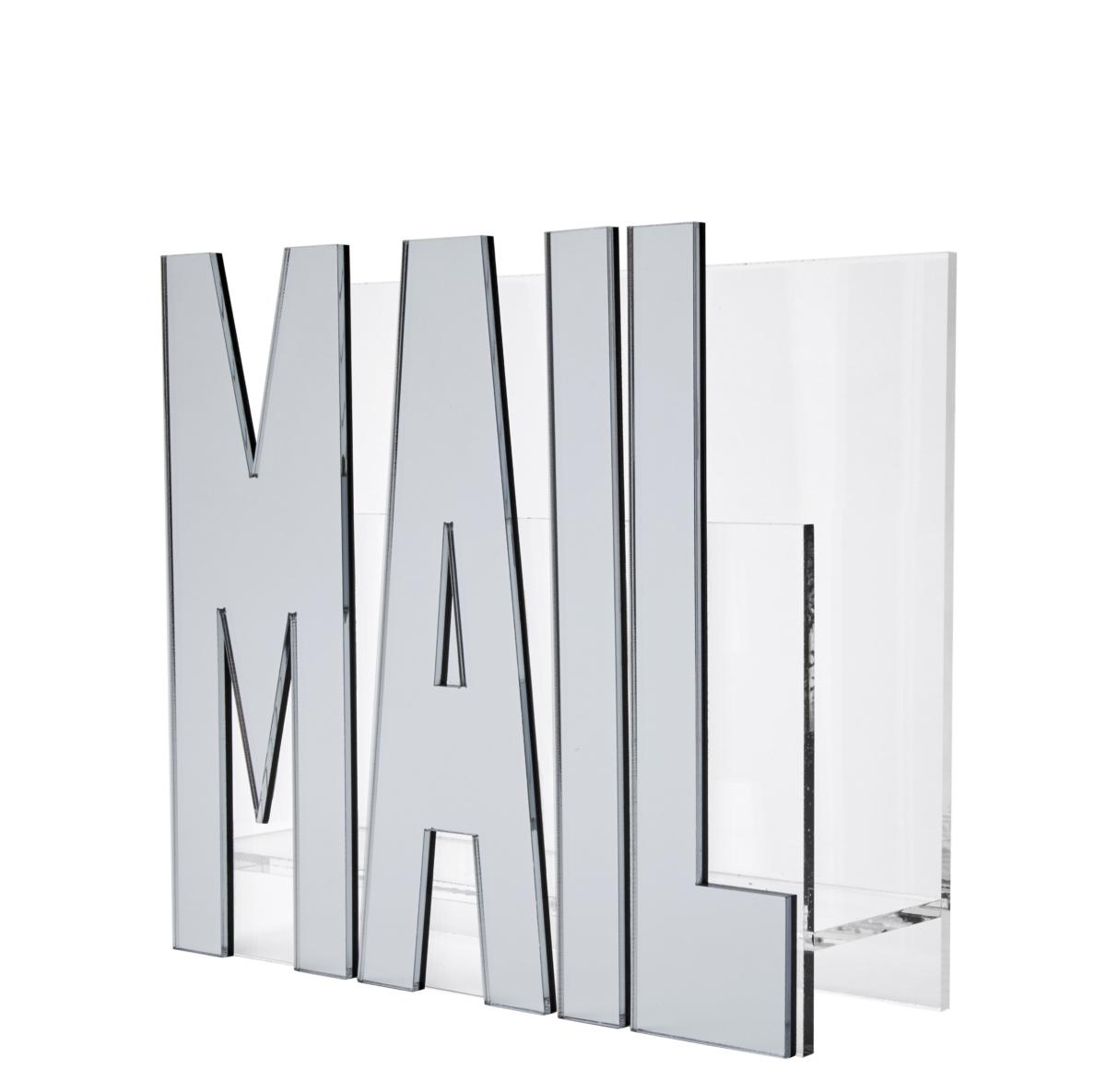 Mail Holder - Silver Mirror