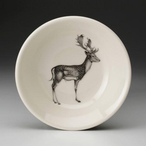 Laura Zindel Sauce Bowl: Fallow Buck Deer