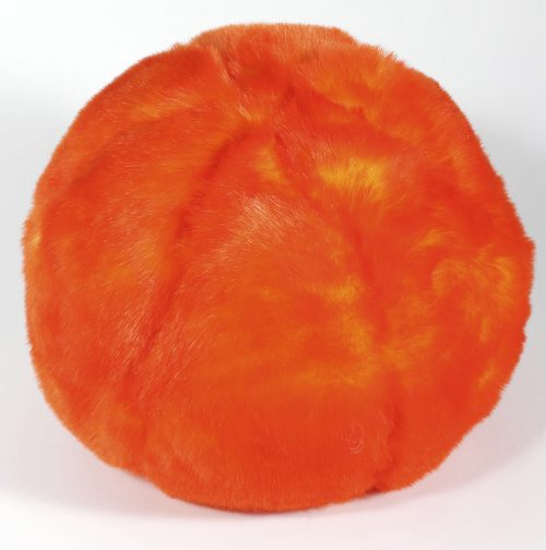 Evelyne Prelonge Faux Fur Snowball - Orange