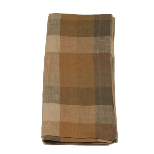 Tina Chen Designs Napkin Brown Checked