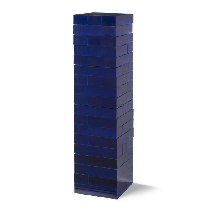 Aurosi Blue Acrylic Tumble Tower Set