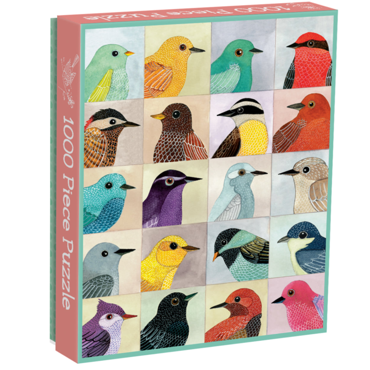 Galison Puzzle-Avian Friends 1000 Piece
