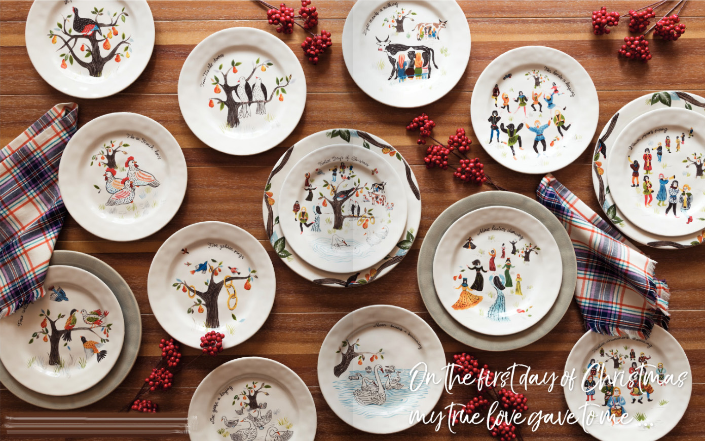 Juliska 12 Days of Christmas Dinnerware