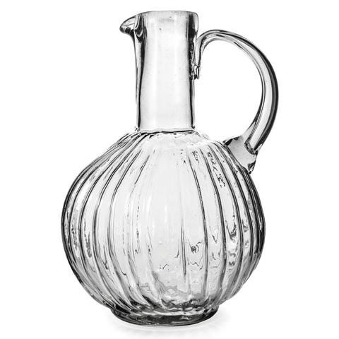 JAN BARBOGLIO SAN JUANA JARRON PITCHER, CLEAR