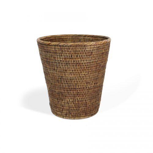 Matahari Rattan Round Waste Basket