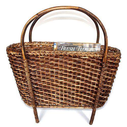 Matahari Rattan Magazine Basket
