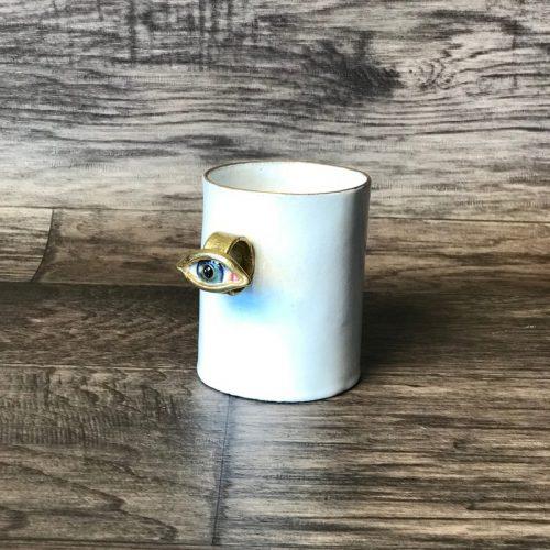 ASTIER DE VILLATTE Serena Cyclops Ring Mug