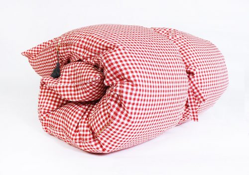 Hedgehouse Throw Bed-Chatham Gingham in Red