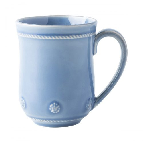 JULISKA Berry & Thread Chambray Mug