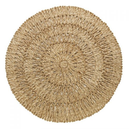 Juliska Straw Loop Natural Placemat