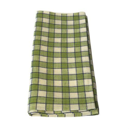 Tina Chen Designs Napkin Green Beige Stripe