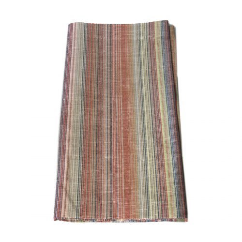 Tina Chen Designs Napkin Red Tiny Multi Stripe