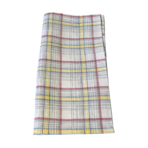Tina Chen Designs Napkin Yellow Red Yellow Blue Stripe