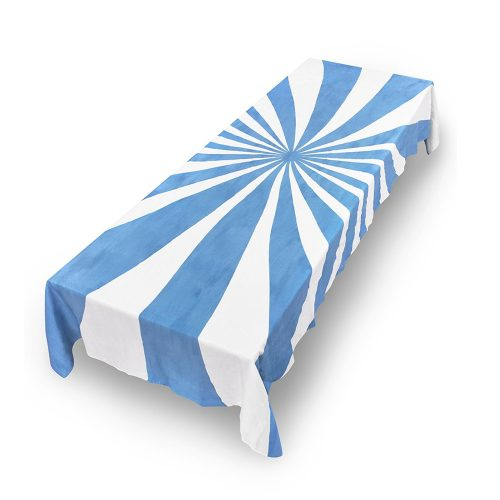 Summerill & Bishop-Tablecloth Le Cirque Linen Blue