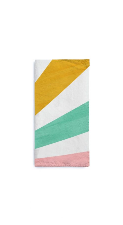 Summerill & Bishop-Napkin Le Cirque in Multicolour