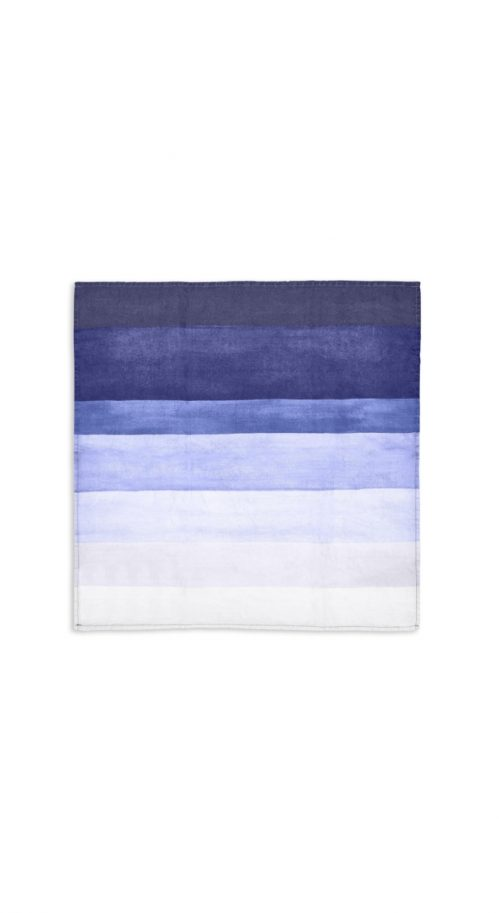 Summerill & Bishop-Napkin Shades Of Blue Striped