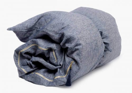 Hedgehouse Throw Bed Solid – Blue