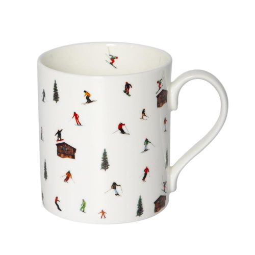Powderhound HUT SKIING MUG